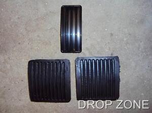 New BRITPART Land Rover 90 / 110 Defender Pedal Pad Set x3 P/N:61K738, 11H1781L