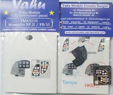 Yahu YMA2411 1//24 Mosquito NF.II//FB.VI Instrument Panel