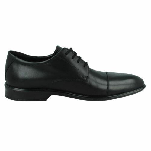 """Clarks Pour Homme /""""Bensley CAP/"""" en Cuir Smart À Lacets Chaussures-G FIT"""