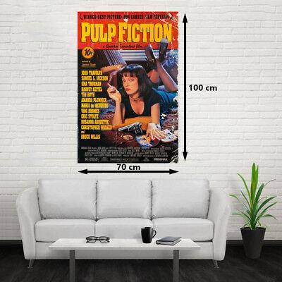 POSTER PULP FICTION 100x70cm EXCELENTE CALIDAD Quentin Tarantino ENVÍO GRATIS