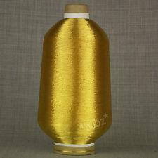 FINE GOLD METALLIC GLITTER LUMIYARN 250g CONE KNITTING EMBROIDERY SPARKLE LUREX