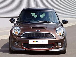 MINI-NEW-GENUINE-COOPER-S-R55-R56-R57-FRONT-BUMPER-LOWER-GRILL-BLACK-SPORT-AERO