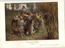 1930 Je Christie The Pied Piper Art Print