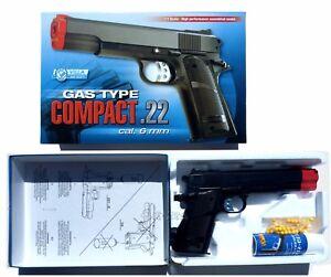 Dettagli su Pistola Giocattolo Mod. Beretta pistola spara pallini + gas + 300 pallini