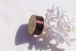 Wine-Size-D-Nymo-Beading-Thread-64-Yards-On-One-Bobbin-Crafts-Jewelry-Making