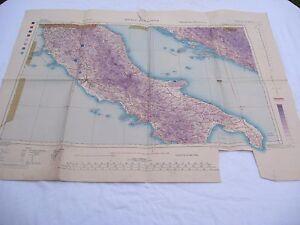 alte-Karte-2-WK-der-US-Army-von-1944-ROMA-SARAJEVO