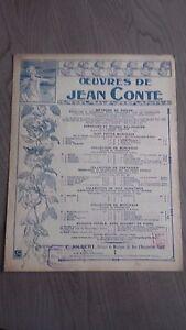 Oeuvres Di Jeans Favola E J.Walter Per Violino Spartito C.Joubert Be