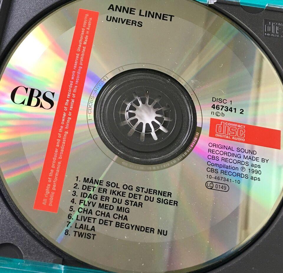Anne Linnet /Marguis de Sade (3CD): Univers, rock