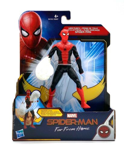 Hasbro e3547eu4-Spider-man personnage 15 cm-Far from Home Noir Spiderman SP