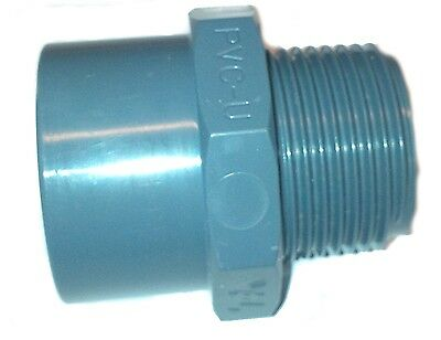 PVC Pipe Glue x Male Threaded MBSP Adaptor Solvent Weld Glue 20mm 25mm 32mm