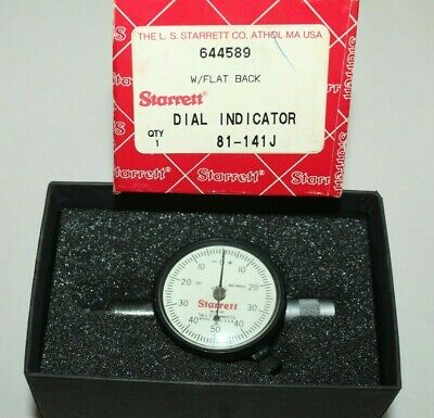 Starrett 25-441 Dial Indicator Jeweled .001 with box
