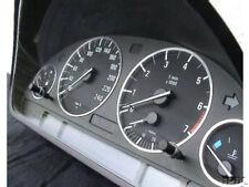 (Oe)Tachoringe Aluminium Klick chrom Titan look BMW E39