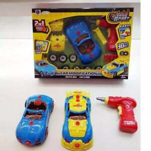 Kid-Child-Assembly-Car-Take-Apart-Race-KIT-SET-Construction-Baby-Toy-Car-Gift