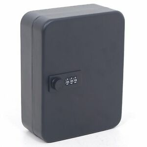 Details about Combination Lock Metal Key Storage Cabinet Wall Mounted  Lockable Safe Box 20 Tag