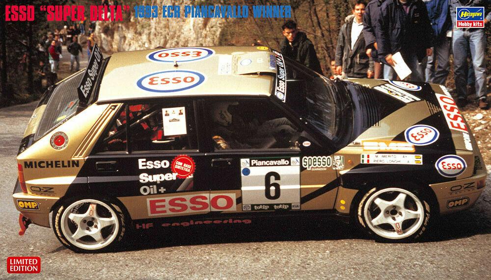 HASEGAWA 1 24 KIT AUTO LANCIA DELTA ESSO SUPER DELTA  1993 ECR PIANCAVALLO  20402  grandes marques vendent pas cher
