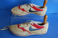 Vintage Nike Track Shoes w Spikes made Korea Red Blue 30.0/12 Size 12 # 900911