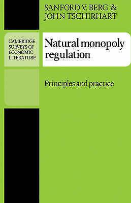 Natural Monopoly Regulation : Principles and Practice, Paperback by Berg, San...