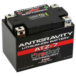 Lithium Ion Car Battery >> Antigravity Batteries Ag Atz7 Rs Re Start Lithium Ion Battery Ytz7 Case Style