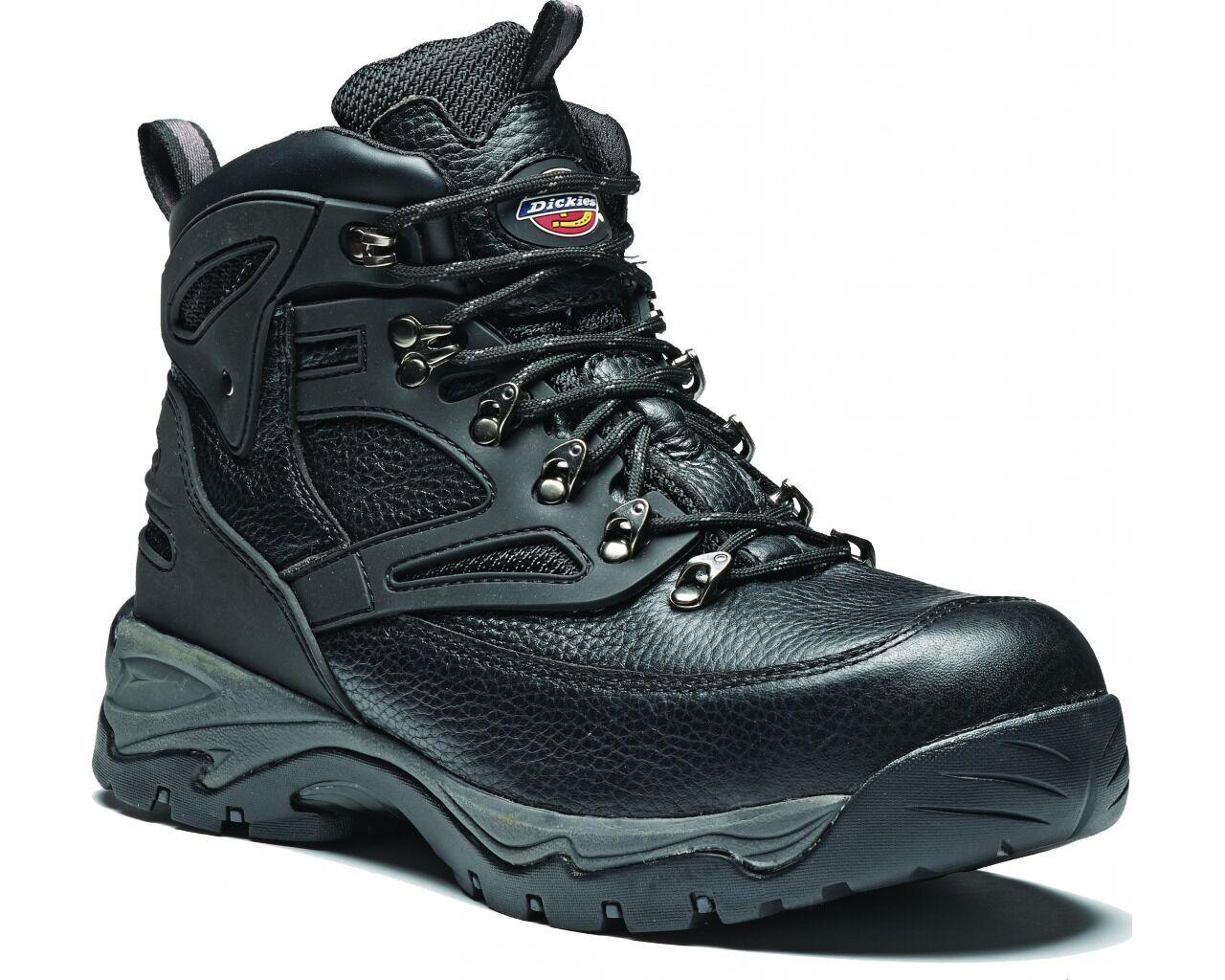 Dickies Preston Preston Preston Water Resistant Safety Mens Leather Composite Work Stiefel UK6-12 7e5405