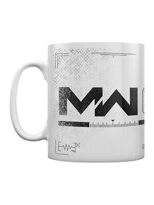 Call Of Duty Mug Modern Warfare Logo Cod Coffee White Ebay