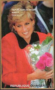 Niger (1997) Princess Diana {Souvenir Sheet) MNH