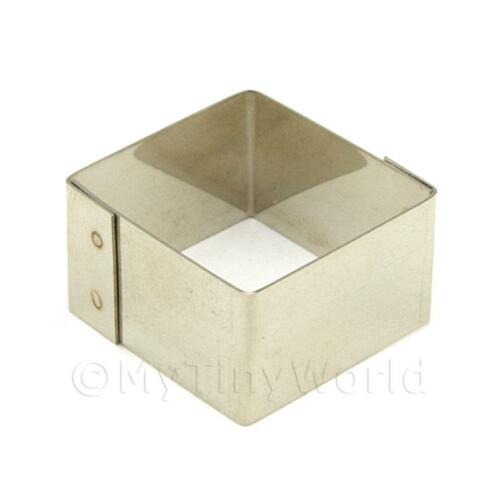 20mm Forma quadrata in metallo Sugarcraft//CLAY CUTTER