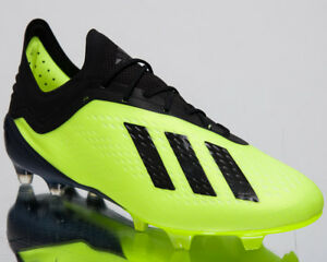 7e4cacfd8 Adidas X 18.1 FG Men's New Firm Ground Football Soccer Yellow Cleats ...