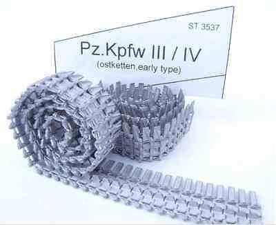 LATE 1//35 SECTOR35 3514-SL ASSEMBLED METAL TRACKS FOR PZ.KPFW.VI TIGER I