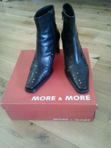 Boots Ankle 5 5 Lady 39 amp; 25301 Black More 31 6 5 d5wSxAq