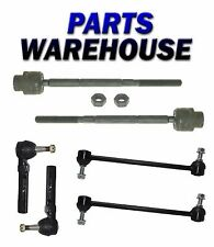 6Pc Suspension Kit Sway Bar Tie Rod End for Chevy Malibu Pontiac G6 Saturn Aura