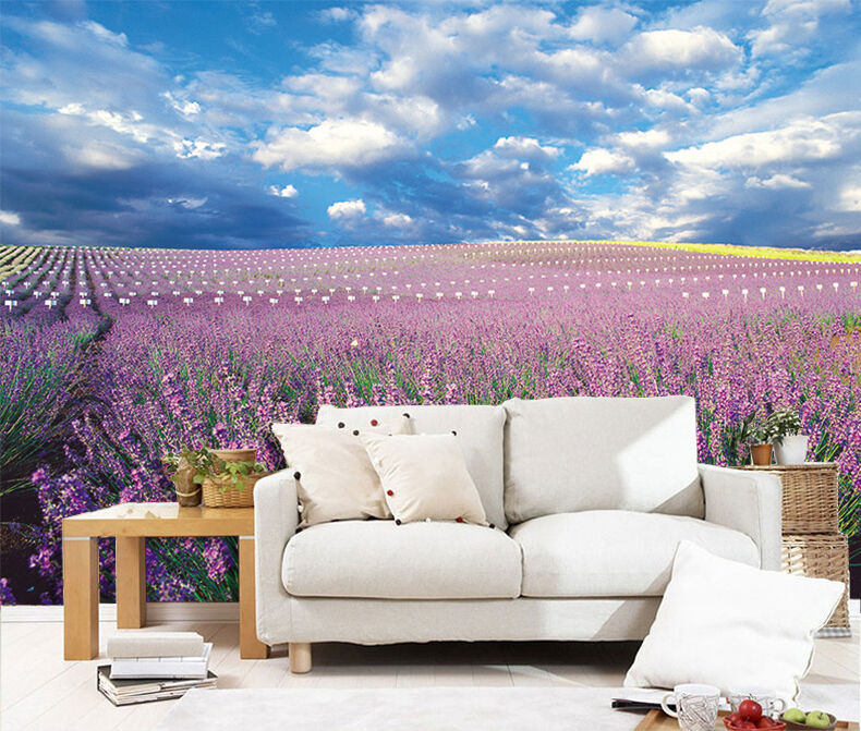 3D Flowers Field Scenery 252 Paper Wall Print Wall Decal Wall Deco Indoor Murals