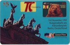 TK Telefonkarte/Phonecard USA Amerivox TC Card Berlin Auflage 3000