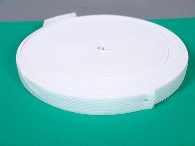 Gummiband 25 Meter breit 20 mm Weiß Neu