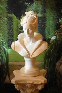 Büste Frau Dame H51cm Daria Statue Figur für Säule