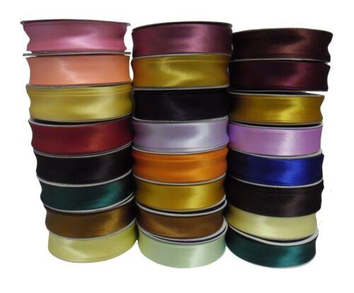 Beste Qualität 23MM Breit Schrägbandeinfassung Azetat Satin Wähle Farbe Länge