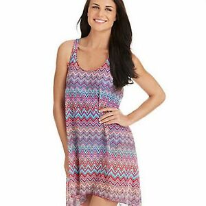d8ca18cabd Profile by Gottex Swim Party Time Mesh Swimsuit Cover Up Sz S Multi ...