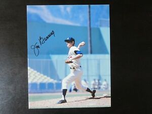 Jim-Bunning-Autograph-Signed-8-X-10-Photo-Los-Angeles-Dodgers-Name-Only