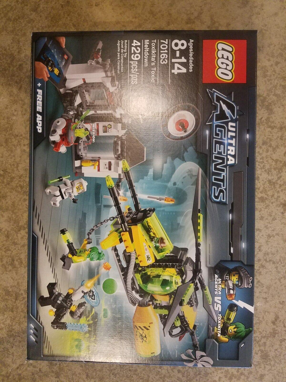 LEGO ULTRA AGENTS 70163 TOXIKITA'S TOXIC MELTDOWN 429 PIECES BRAND NEW & SEALED