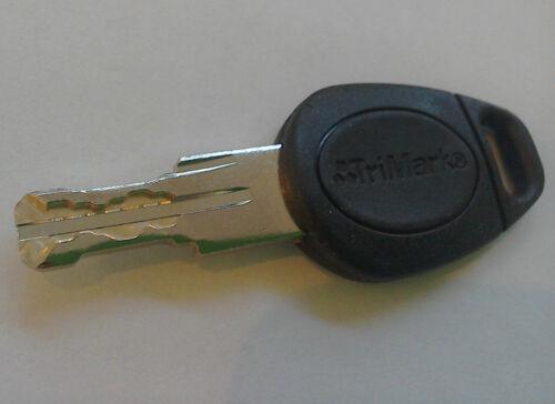 Lunar and Venus Trimark Door Key Caravan Motorhome Snake Cut Key 6675-6824