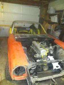1970 Datsun 240z,  zero rust, original solid body