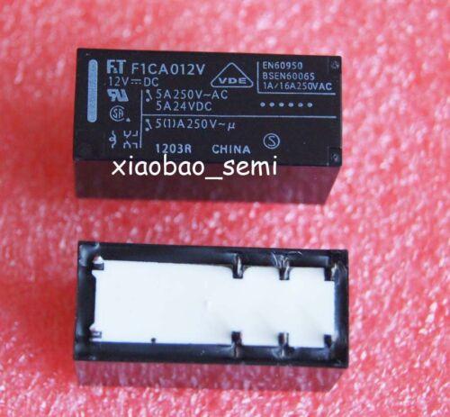 10PCS F1CA012V FTR-F1CA012V 12VDC ORIGINAL FUJITSU Relay 8pins