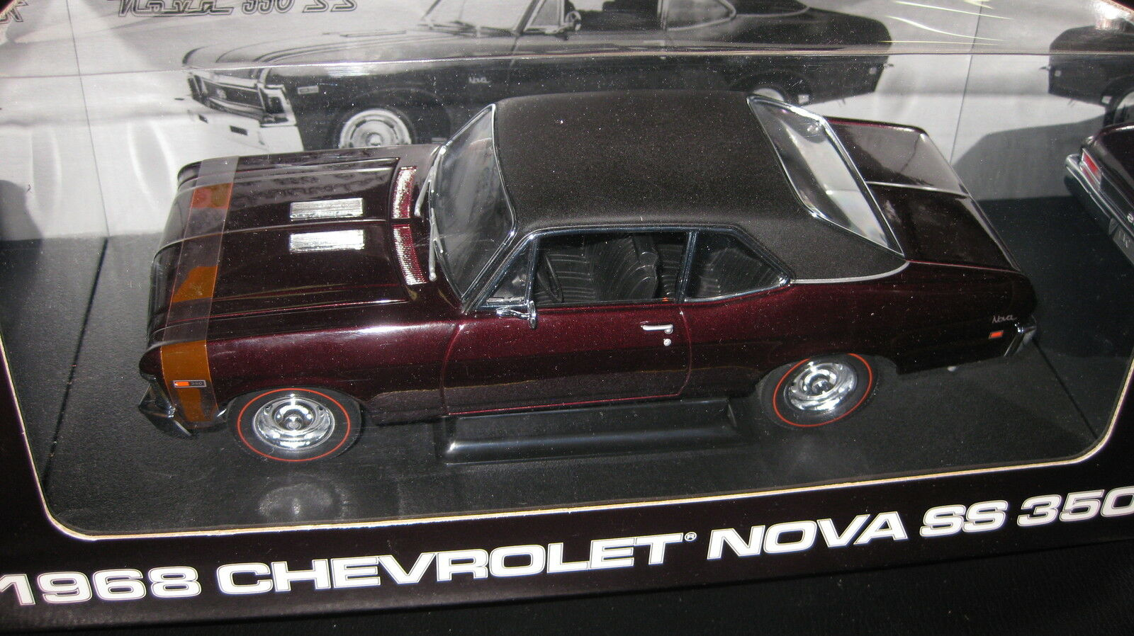 1.18 1968 CHEVROLET NOVA SS 350 PEACHSTATE COLLECTIBLES  BY GMP LTD ED AWESOME  offres de vente