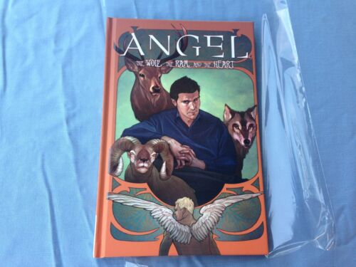 """Angel"" The Wolf, The Ram and the Heart Vol. 3 HC. First Printing Mint!"