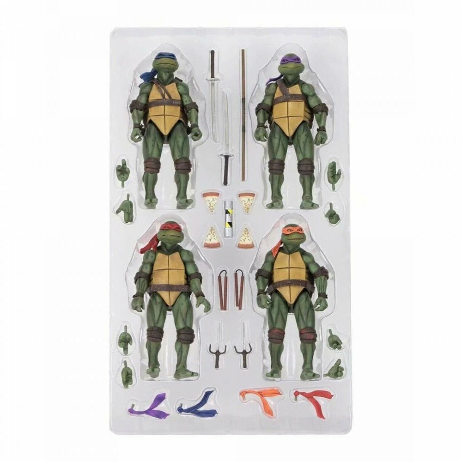2019 New 4Pcs Set Original 1990's Turtles 18cm Action Figure Toys Doll For Kid