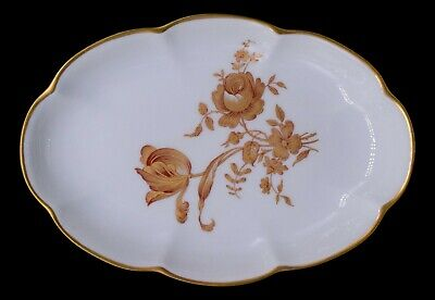Nut Candy Dish Giraud Limoges France Vintage Fisherman Scalloped Shell