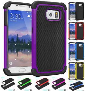 para-Samsung-Galaxy-S7-Hibrido-Resistente-Goma-Duro-Protector-Antichoque-Funda