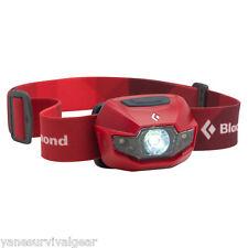 Black Diamond Spot Headlamp 130 Lumens Fire Red AAA batteries included Brand New