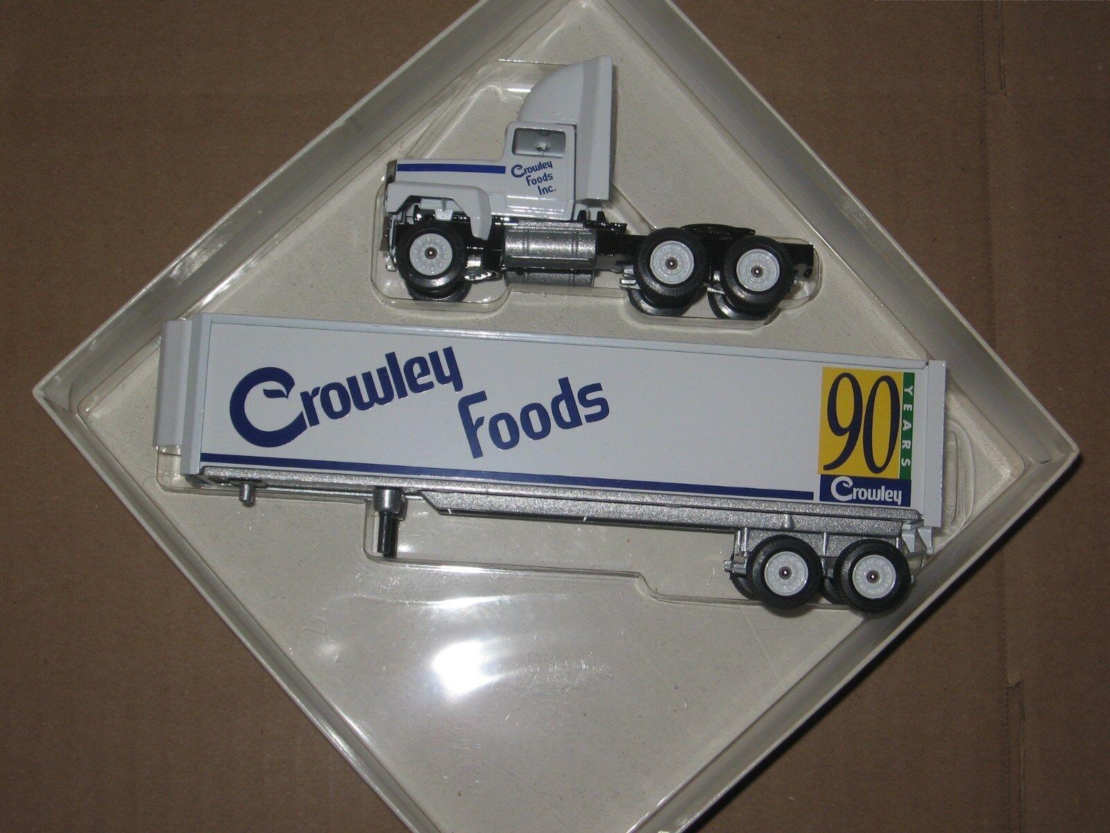 Winross 1 64 Crowley alimentos Tractor Y Trailer