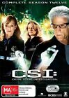 CSI - Crime Scene Investigation : Series 12 (DVD, 2013, 6-Disc Set)