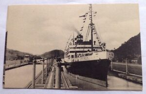C S SS VIRGINIA PANAMA PACIFIC LINE CRUISE SHIP In PANAMA - 1930s cruise ships